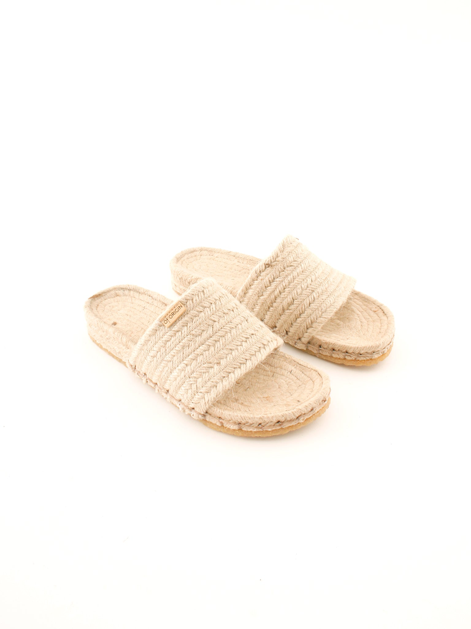 Of Origin Comte slide sandal naturelle