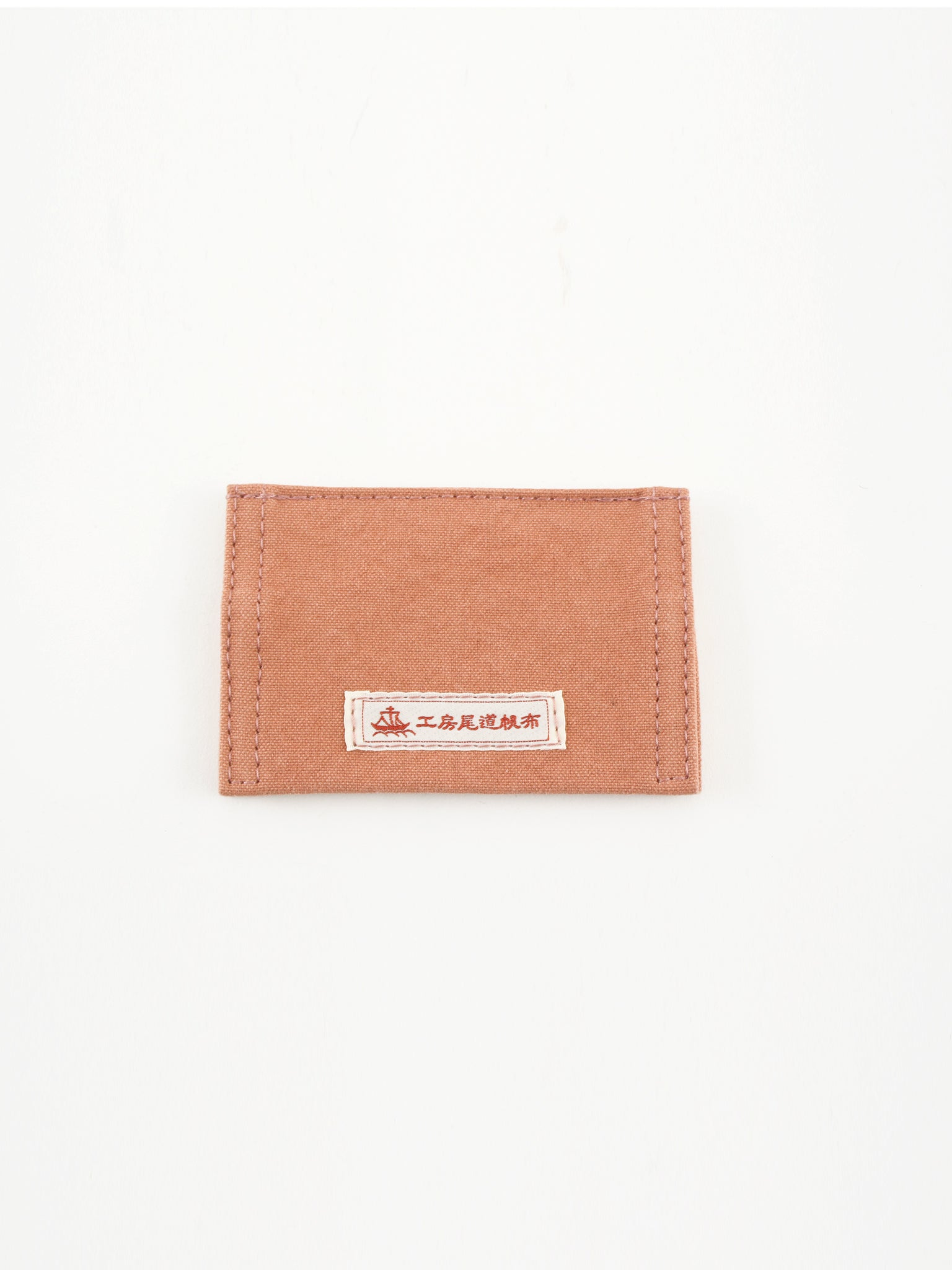 Ohayo Card case, salmon pink