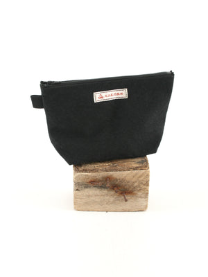 Onomichi Hanpu Make-up Pouch Black