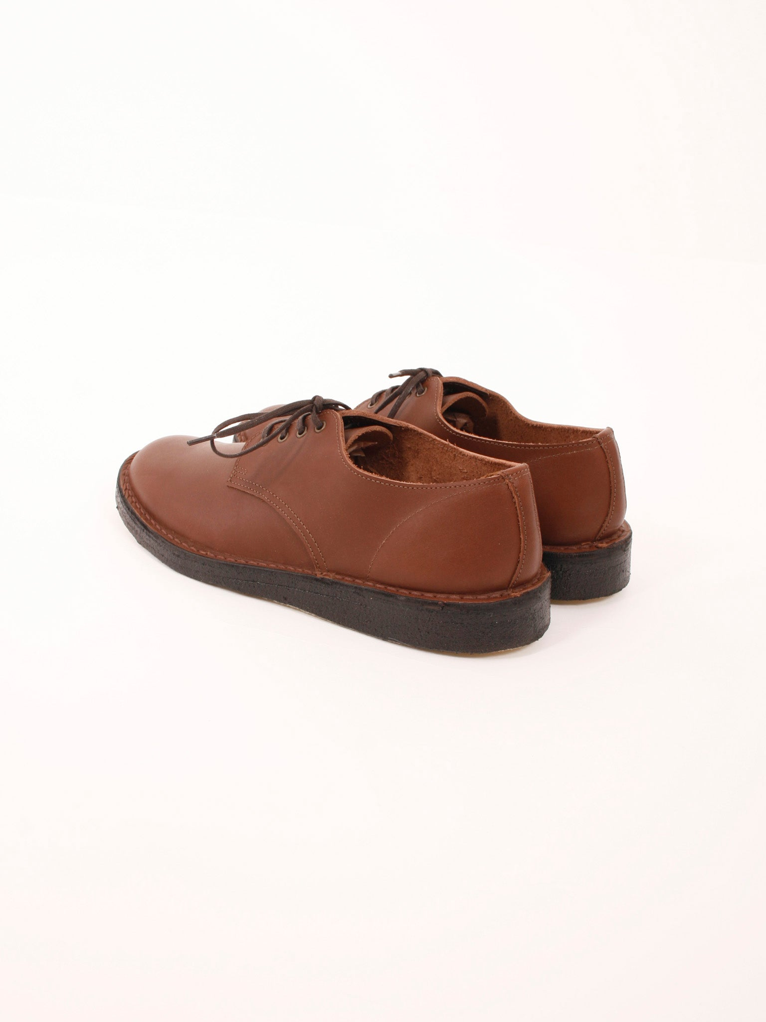out to lunch derby shoes brown made in UK mens shoes