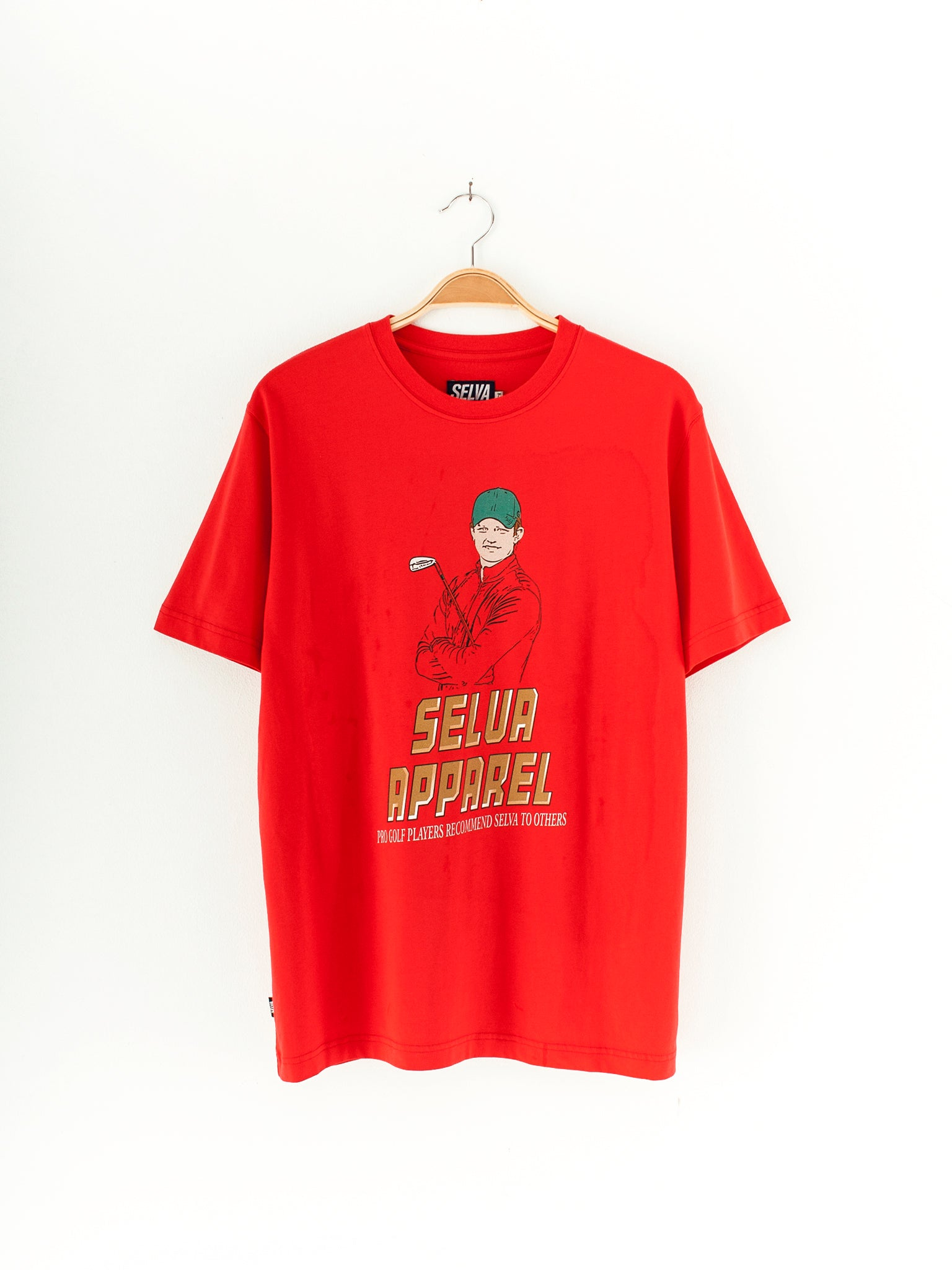 Selva Clubhouse T-shirt Red