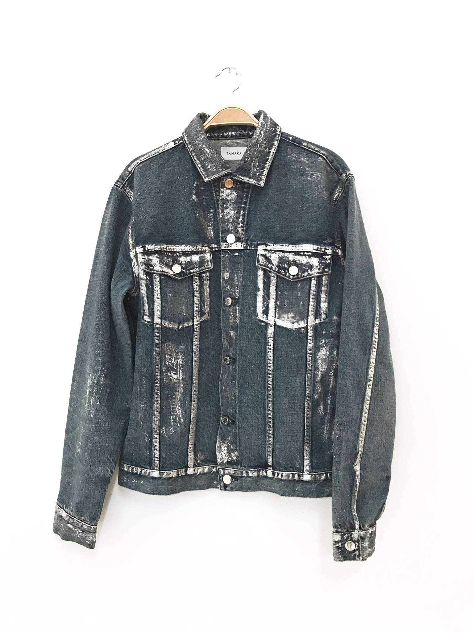 tanaka japanese selvage denim jacket