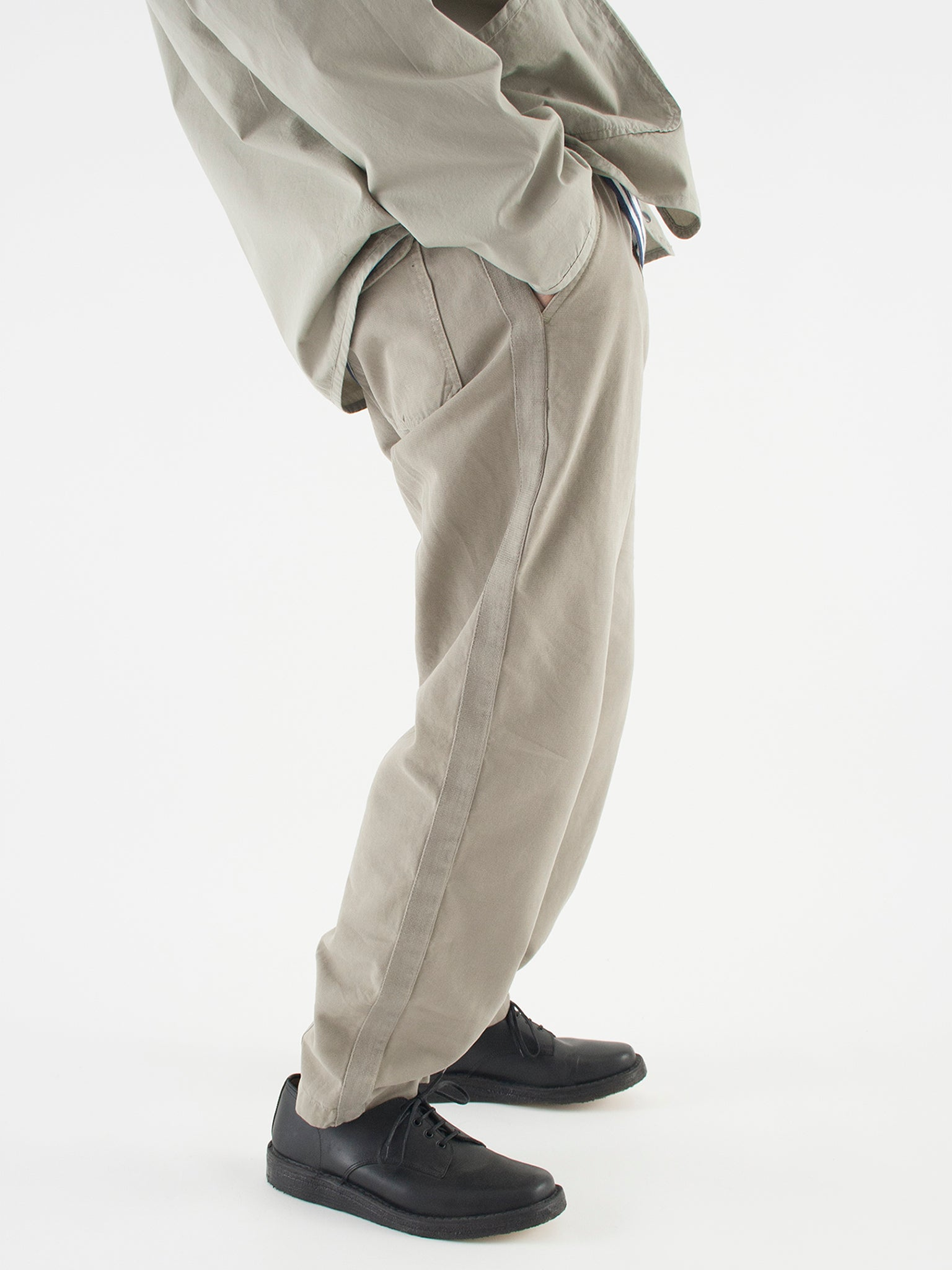 Track trouser, laurel canvas
