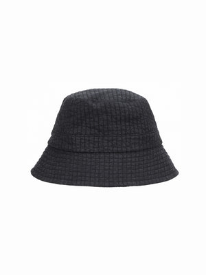 ymc bucket hat quitted cotton navy