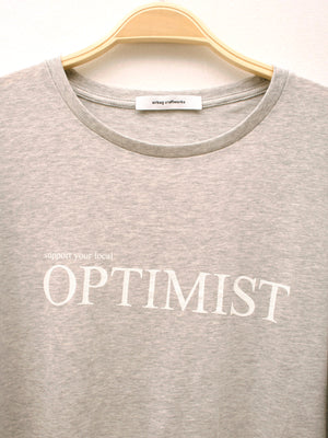 Basic T 01, optimist grey