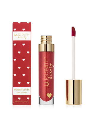 Ruby Power Lip Gloss With high Energy and Vibrant Color by Jules Smith Beauty