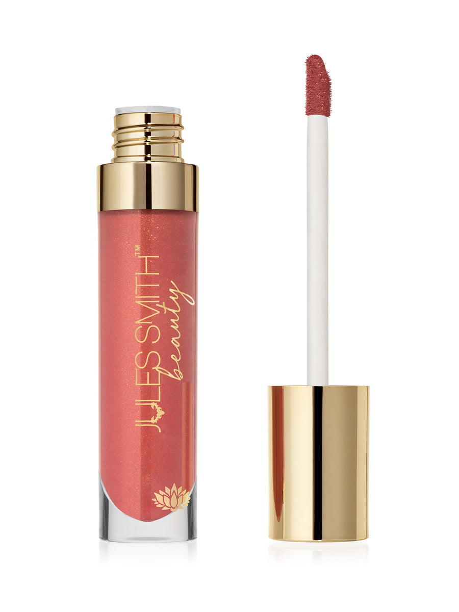 Agate Power Lip Gloss with High Shine and Shimmer for the Creative heart by Jules Smith Beauty