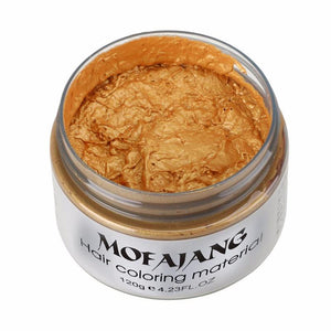 Mofajang Color Hair Wax Gold