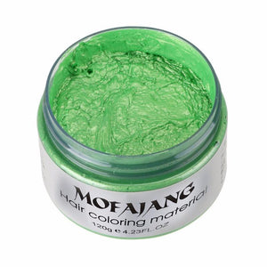 Mofajang Color Hair Wax Green