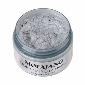Mofajang Color Hair Wax Silver