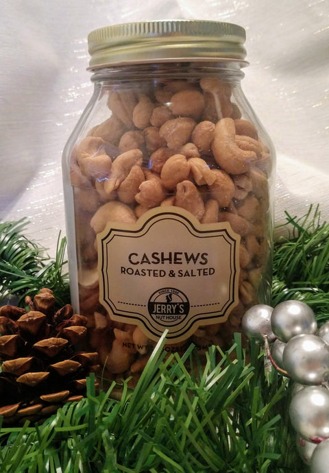 Large Cashews Jar - Roasted & Salted