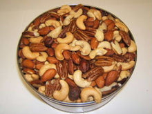 Load image into Gallery viewer, 5 lb Deluxe Mixed Nuts Tin - Roasted & Salted