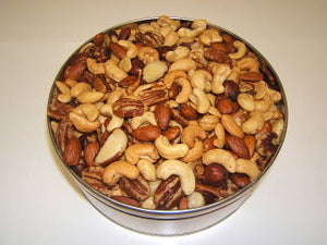 3 lb Fancy Mixed Nuts Tin - Roasted & Salted