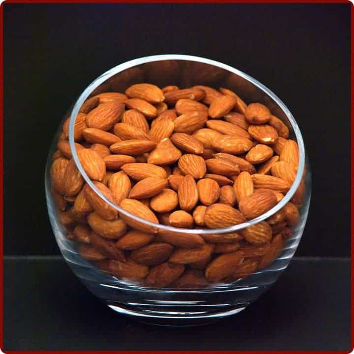Unblanched Almonds Raw!