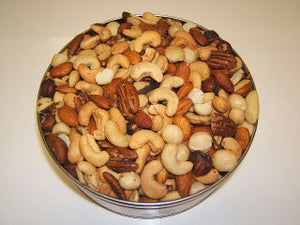 3 lb Royal Mixed Nuts Tin - Roasted & Salted