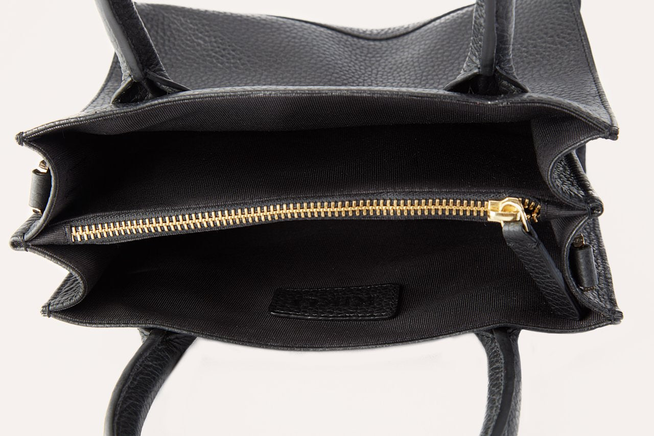 Kiko Simplistic Leather Crossbody Handbag