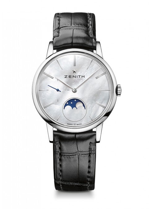 ZENITH ELITE LADY MOONPHASE 36 MM 03.2320.692/80.C714