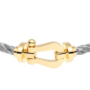 FRED PARIS FORCE 10 BRACELET GOLD BUCKLE