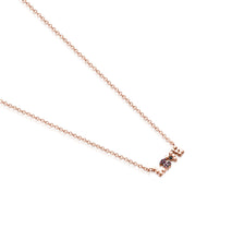 Carica l'immagine nel visualizzatore di Gallery, Tous San Valentín love Necklace in Rose Gold Vermeil with Ruby and Spinel 915302550