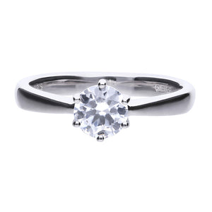 Diamonfire Anello Solitario Carats 61/1487/1/082