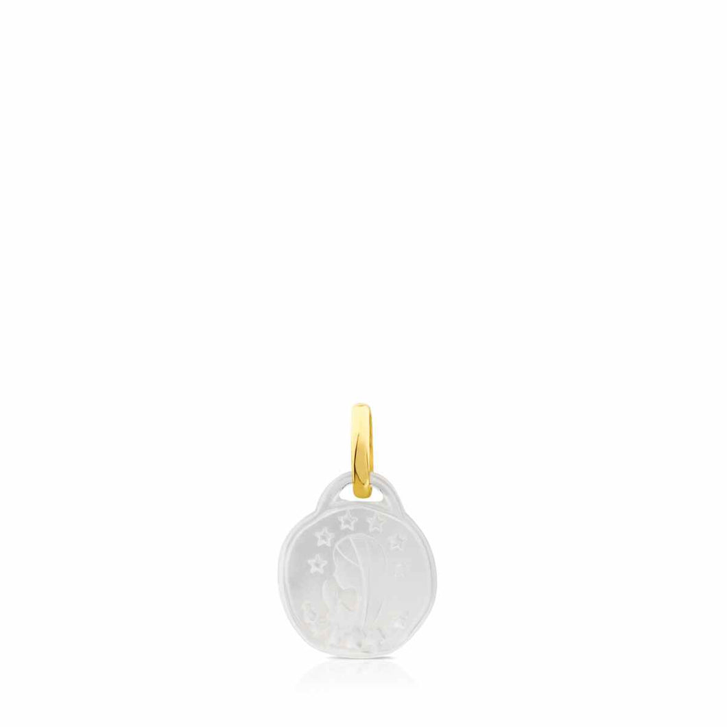 Tous Gold Devocion Maria Pendant with Mother-of-Pearl 714174000