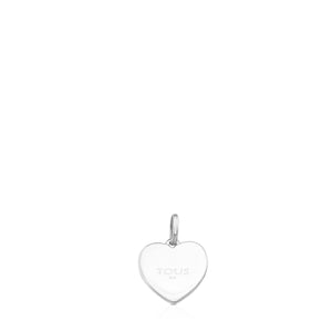 Tous Silver Super Power Pendant with Rhodonite 812404670