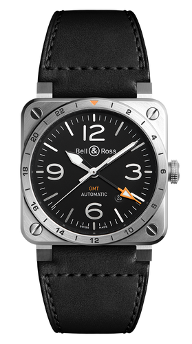 BR 03-93 GMT 42MM BR0393-GMT-ST/SCA