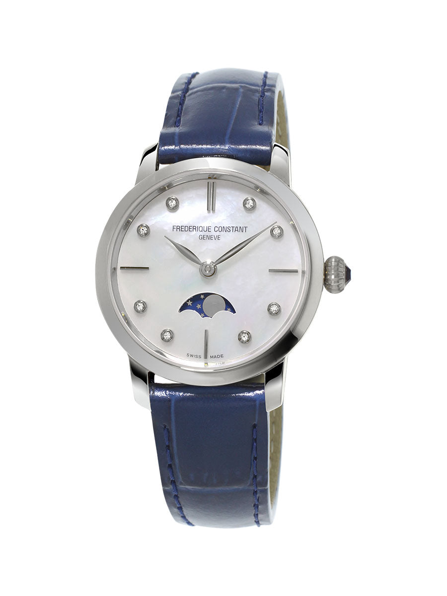 SLIMLINE LADIES MOONPHASE FC-206MPWD1S6