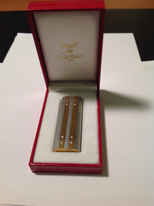 LIGHTER SILVER CARTIER PARIS AD352