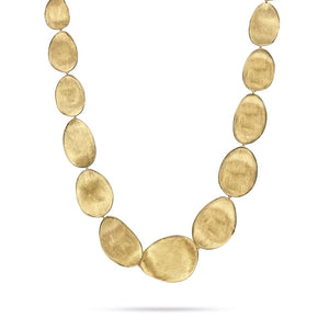 LUNARIA GOLD LARGE GRADUATED COLLAR NECKLACE BY MARCO BICEGO CB1777
