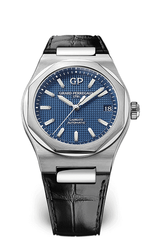 GIRARD PERREGAUX LAUREATO 42 MM 81010-11-431-BB6A PRE OWNED