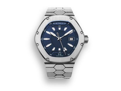 DIETRICH TC SS – BLUE 42MM