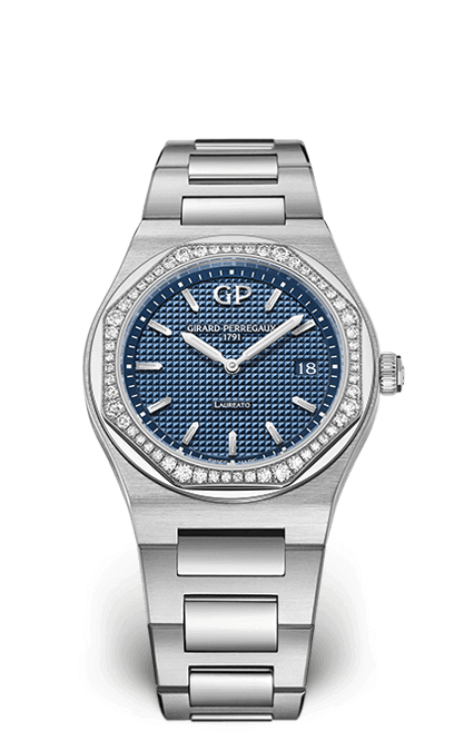 GIRARD PERREGAUX LAUREATO DIAMONDS 34 MM 80189D11A131-11A