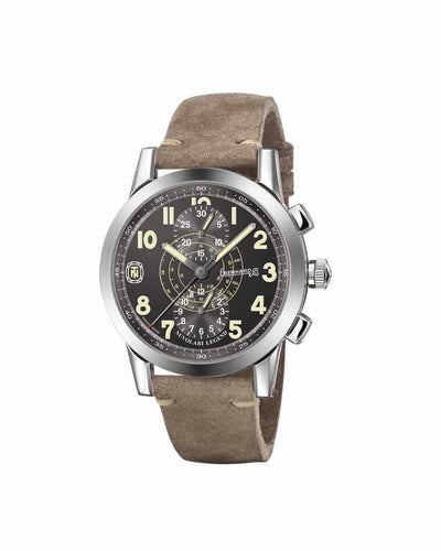 EBERHARD TAZIO NUVOLARI LEGEND BROWN HELMET 43MM 31138