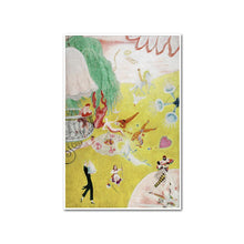 Love Flight of a Pink Candy Heart by Florine Stettheimer Artblock