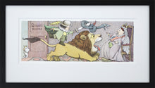 Queen's Room by Maurice Sendak Vintage Print Framed in Black - Special Edition, by Museums.Co