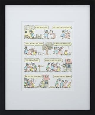 Go Tell Aunt Rhody by Maurice Sendak Framed Art Print - Special Edition