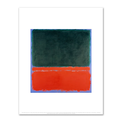 Mark Rothko, Green, Red, Blue, 1955, Fine Art Prints in various sizes by Museums.Co