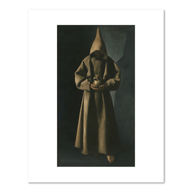 Francisco de Zurbarán, Saint Francis of Assisi in His Tomb, 1630/34, Fine Art Prints in various sizes by Museums.Co