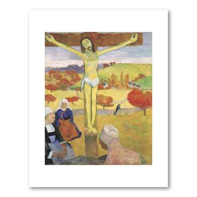 Le Christ jaune (The Yellow Christ) by Paul Gauguin