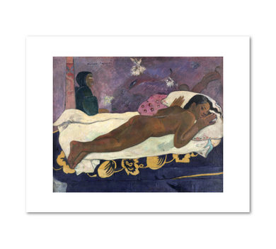 Manao tupapau (Spirit of the Dead Watching) by Paul Gauguin