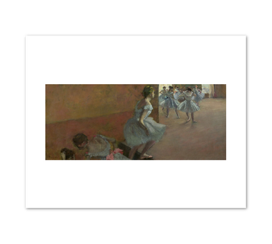Dancer Climbing the Stairs by Edgar Degas