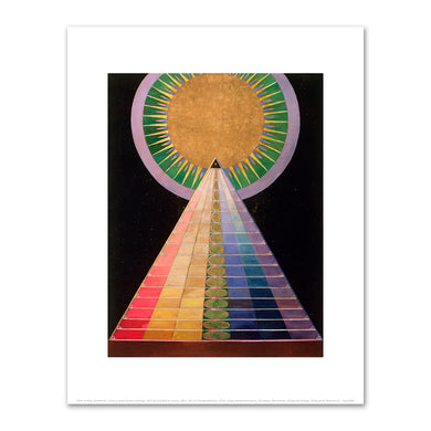 Hilma af Klint, Untitled No. 1 from a series of altar paintings, 1915, Fine Art Prints in various sizes by Museums.Co