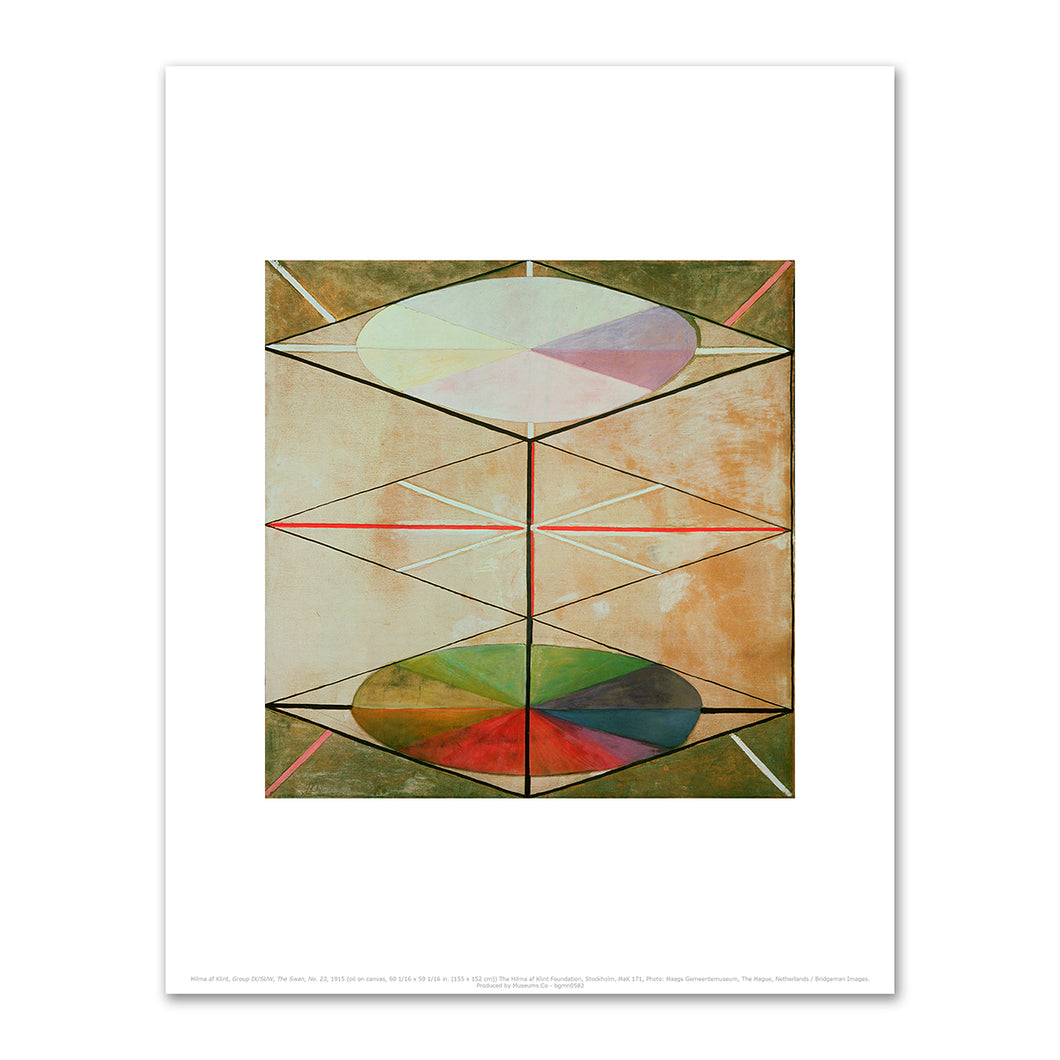Hilma af Klint, Group IX/SUW, No. 23, The Swan, 1915, Fine Art Prints in various sizes by Museums.Co