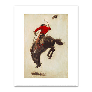 N. C. Wyeth, Bucking Bronco, 1903, Fine Art Prints from Museums.Co