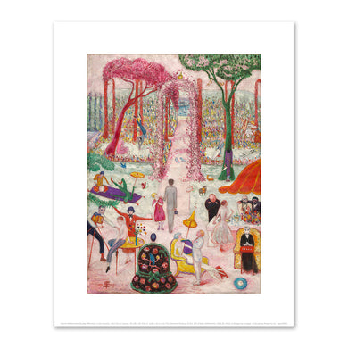 Florine Stettheimer, Sunday Afternoon in the Country, 1917, The Cleveland Museum of Art. Fine Art Prints in various sizes by Museums.Co