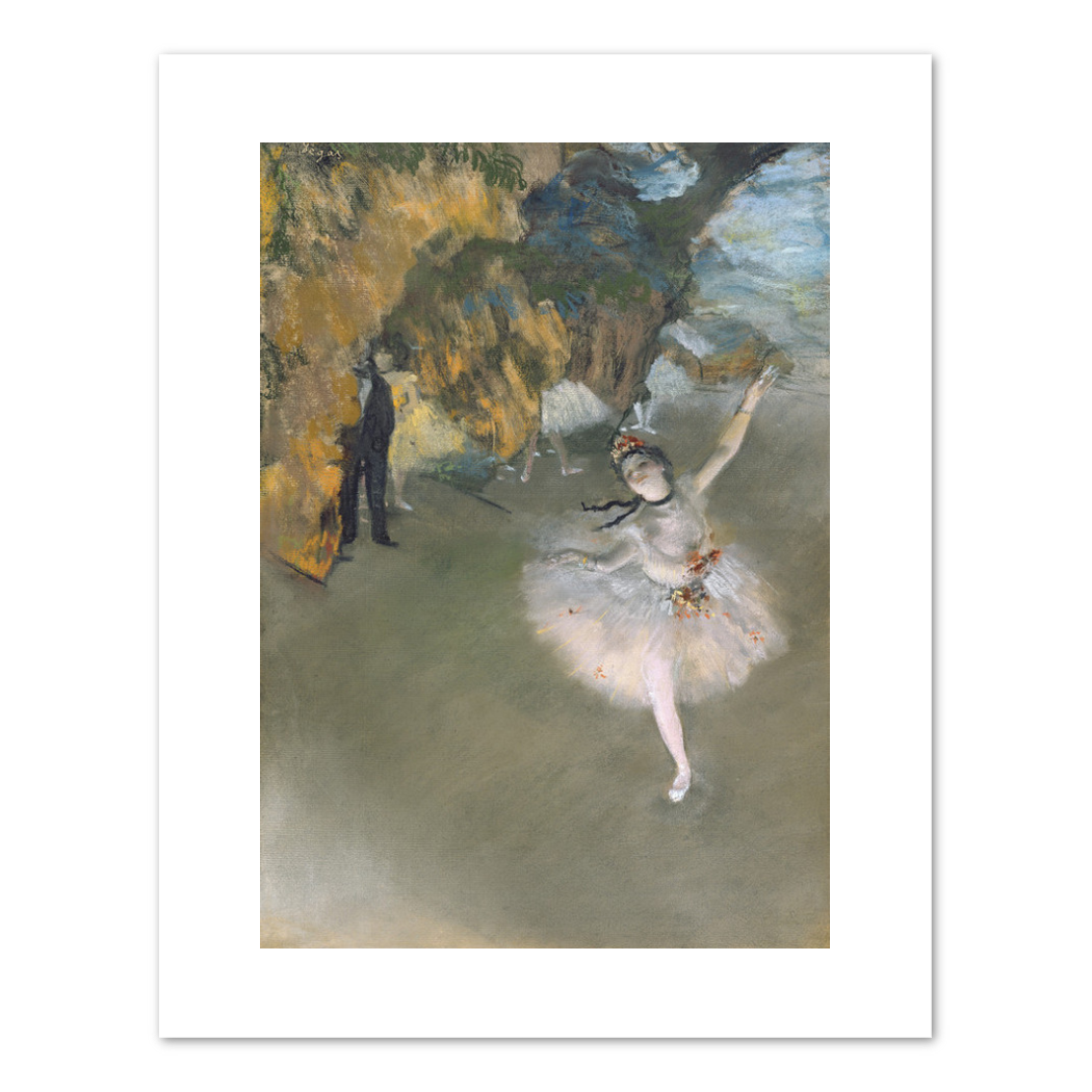 Edgar Degas, The Star, or Dancer on the stage, 1876–1877, Fine Art Prints in various sizes by Museums.Co