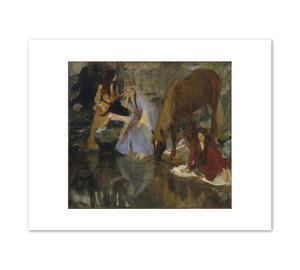 "Edgar Degas, Portrait of Eugénie Fiocre a propos of the Ballet ""La Source"", 1867–1868, Fine Art Prints in various sizes by Museums.Co"