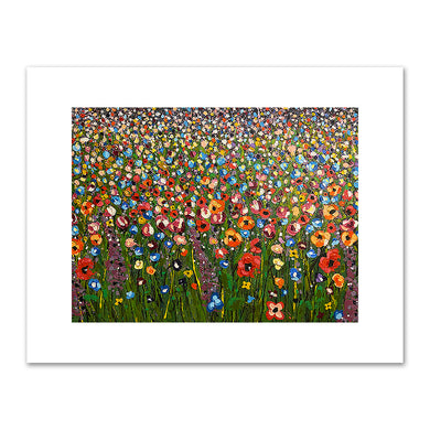 Brittany Bruce, Field of Flowers, 2020, Private Collection. Fine Art Prints in various sizes by Museums.Co
