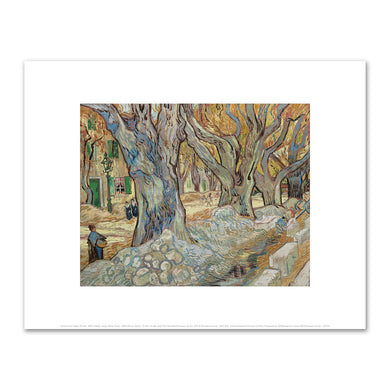 Vincent van Gogh, The Large Plane Trees, 1889, The Cleveland Museum of Art. Fine Art Prints in various sizes by Museums.Co